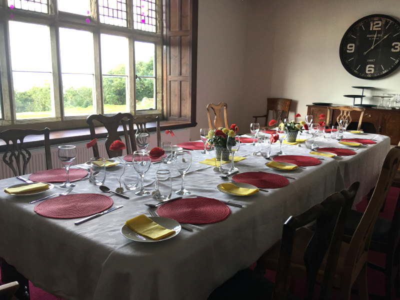 Plas Mynach is ideal for celebrations with family and friends